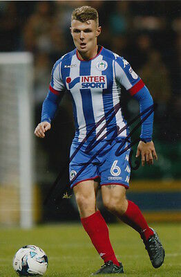 Wigan Athletic Hand Signed Max Power 6X4 Photo.