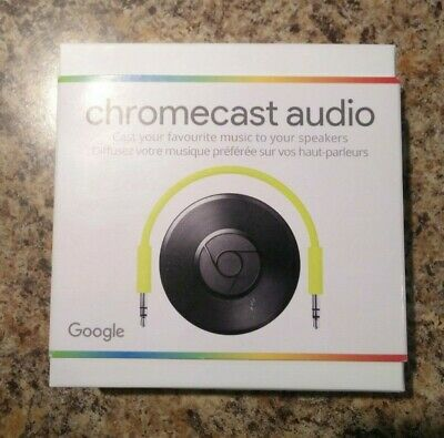 Google Chromecast Audio - Used Good Condition, Complete / All Accesories
