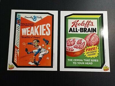 Lot of (6) 2013 Topps Wacky Packages Classics Posters