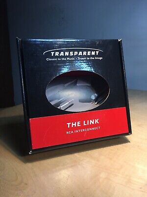 Transparent The Link RCA Interconnect Cables