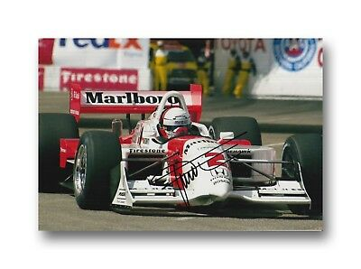 Gil De Ferran Hand Signed 12X8 Photo Indy 500.