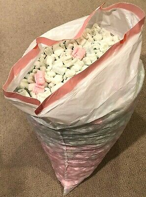 10 Cubic Foot 13 Gallon Bag of Stryofoam Packing Peanuts Recycled Material