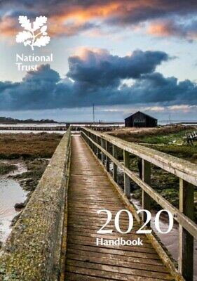 New National Trust 2020 Handbook With Free Car Park Sticker
