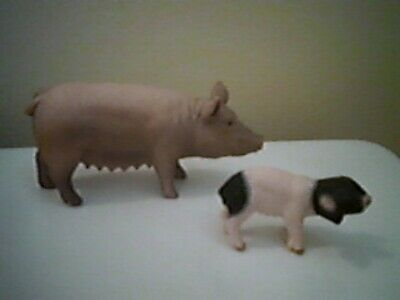AAA 97243 Sow Pig with Piglets Model Toy Hog Figurine Replica NIP