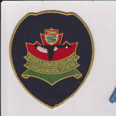 Canada Prince Edward Island Conservation Officer Game Warden Police Patch