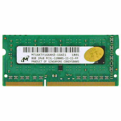 For Micron 8GB 16GB 32GB PC3-12800 DDR3L-1600MHz 204Pin SO-DIMM Laptop Memory