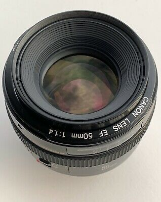 Canon EF 50mm f/1.4 USM Lens, Clean, Sharp, 9+ Free Expedited Shipping US