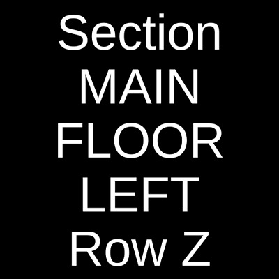 4 Tickets The Play That Goes Wrong  2/28/20 Indianapolis, IN