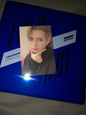 ATEEZ TREASURE EPILOGUE : Action To Answer Album with Yeosang Photocard Ver. Z