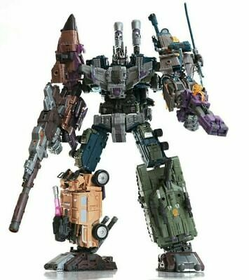 Jinbao K.O OVERSIZED Warbotron Bruticus Robot Decepticons toy COOL New