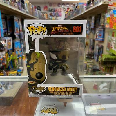 Venomized Groot Pop 601 Funko Pop Maximum Venom Collectible with Protector