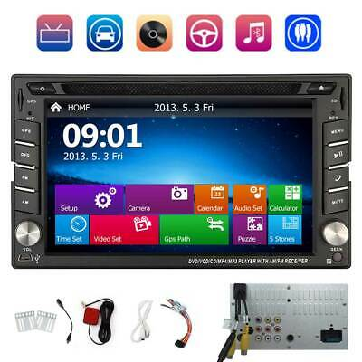 EU MAP + AUTORADIO mit Navigation NAVI BLUETOOTH GPS 2 DOPPEL DIN MP3 DVD PLAYER