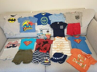 Baby Boys NEXT, Ted Baker, Disney, Mothercare Summer Clothes Bundle 3 - 6 Months