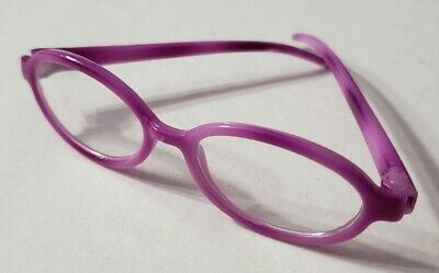 """18"""" Doll Accessories Purple Eyeglasses Eye Glasses Only No Case American Girl"""