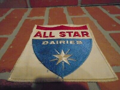 All Star Dairies Vintage 1970S Big Jacket Patch