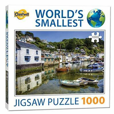 Jigsaw Puzzle POLPERRO - The World's Smallest 1000 Piece Puzzle