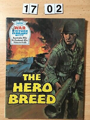 "Fleetway War Picture Library Comic # 1717 From 1979. ""The Hero Breed""  VG Cond"