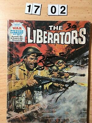 """Fleetway War Picture Library Comic # 1917 From 1982. """"The Liberators"""""""