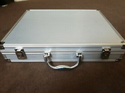 Wholesale Joblot 4 x Aluminium Lockable Briefcases...Brand New Stock...