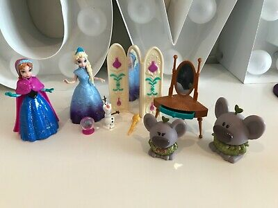 Disney Magiclip Princess Doll frozen Elsa Anna trolls accessories