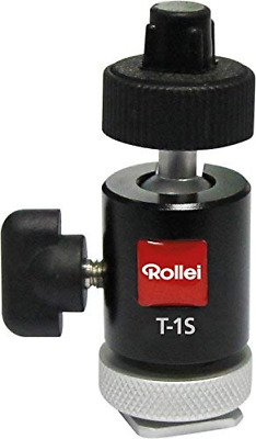 Rollei T-1S - Panoramic Tripod Ball Head with a weight of only 58 g, Max. load c