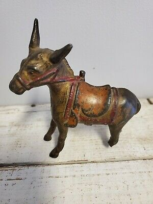 Vintage  Donkey Bank Made By Ac Williams?