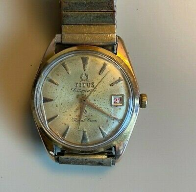 OLD Vintage - Men Watch TITUS TITOMATIC - Swiss Made - Running