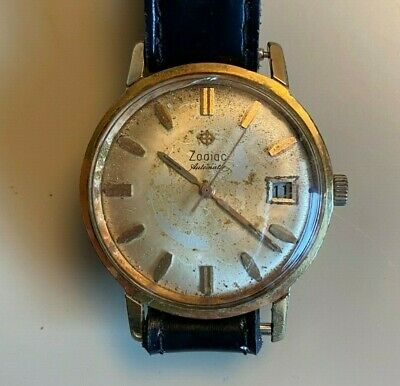OLD Vintage - Men Watch ZODIAC AUTOMATIC - Swiss Made - Running
