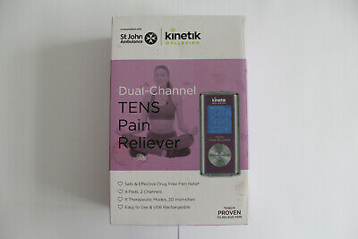 St John Ambulance - Kinetik Wellbeing Dual-Channel TENS Pain Reliever