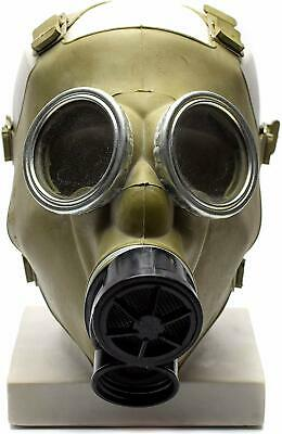 Cold war era Polish Gas Mask MC-1 Original mask Genuine respiratory Olive NEW