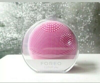 FOREO Luna Play Cleansing Brush in Petal Pearl Pink New Unused Boxed