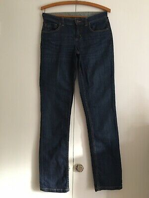 Ladies Joules Blue Jeans Straight Leg size UK 8
