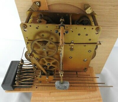 Vintage old clock Chime mechanism working but will need setting up