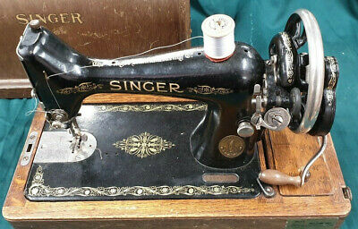 Vintage/Antique Singer 99k Sewing Machine (1914) (stk202)