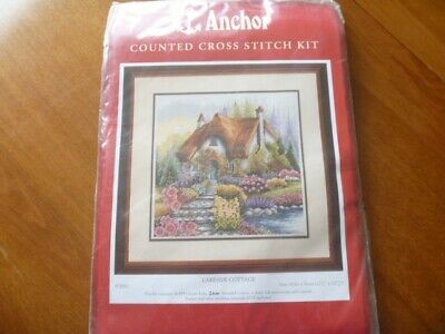 Anchor counted cross stitch kit Lakeside Cottage