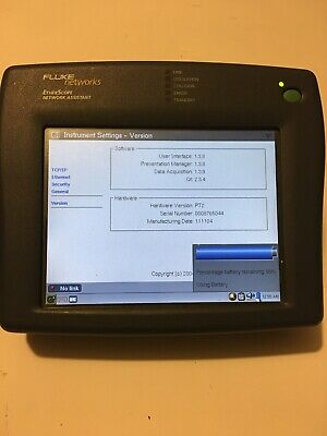 Fluke Networks EtherScope Network Assistant. HARDLY USED!!