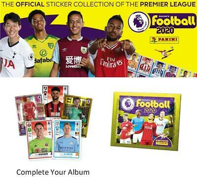 Panini Football 2020 Premier League Sticker Collection