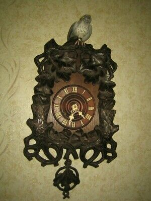 Rare and Unusual Black Forest Cuckoo Clock