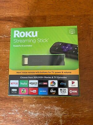 Roku 3800R Streaming Stick - Black (2017)