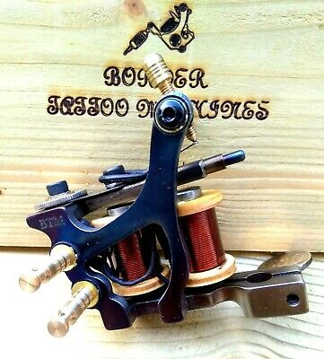 Border Tattoo Machine,Liner,Custom Waters Blued Frame Custom 8 Layer 32Mm Coil
