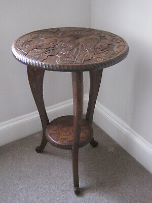 Antique Arts and Crafts Liberty Japanese Table M