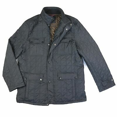 """Mens M&S Quilted Jacket Classic Smart Casual Spring Coat UK XL-2XL/Chest 46-48"""""""