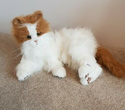 FURREAL FRIENDS ~ GINGER & WHITE KITTEN ~ 10