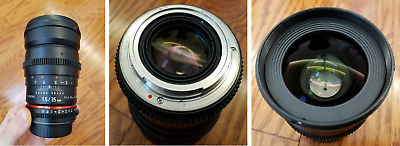 ROKINON 35mm t/1.5 Cine AS UMC Lens for Canon EF