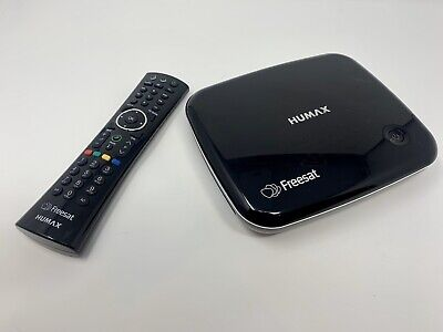 Humax HB-1100S Freesat HD TV Receiver Over 200 Channels,netflixAdd HDD To Record