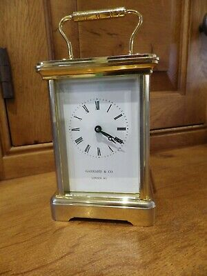 Garrard & Co London Carriage Clock Fully Restored In Very Good Condition