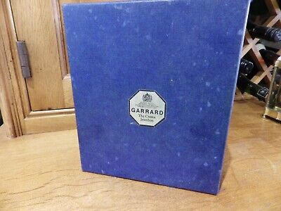 Garrard Carriage Clock In The Box With Paperwork Looks Like it;s Never Been Used