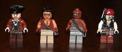 Genuine Lego GUNNER ZOMBIE Minifigure Pirates of the Caribbean 4191 4194 4195