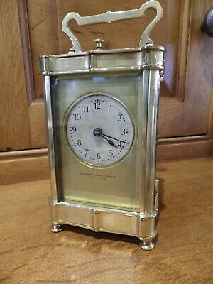 French Repeating Carriage Clock In A Nice Case Style Case Fully Restored