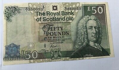 SCOTSH £50 Note (Fake )GBP Pounds GOOD CONDITION